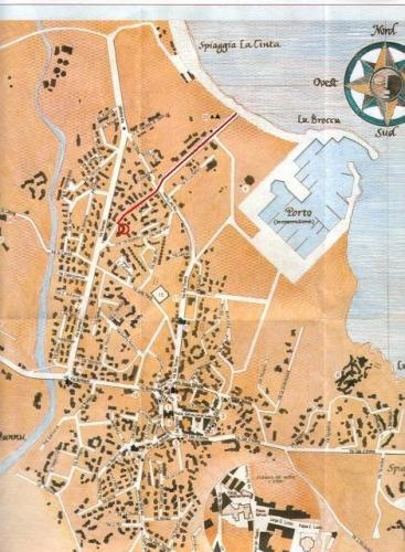 Cartina Di San Teodoro Sardegna.Mappa Sardegna A San Teodoro